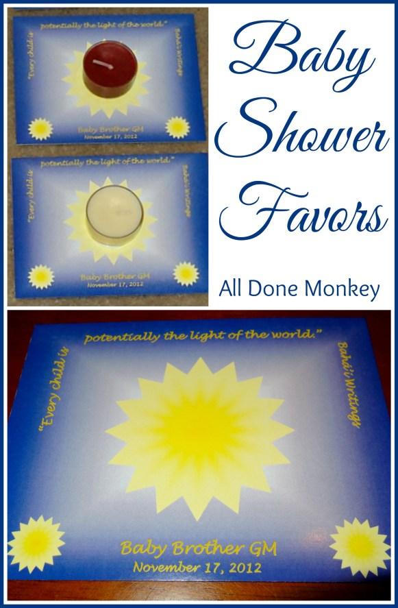 Baby Shower Favors {Multicultural Kid Blogs Virtual Baby Shower} - Alldonemonkey.com