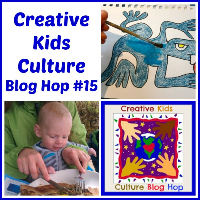 Creative Kids Culture Blog Hop #15 - Alldonemonkey.com