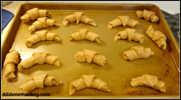 Croatian Crescent Rolls {Around the World in 12 Dishes} - Alldonemonkey.com