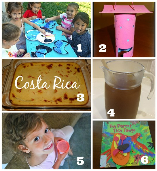 Costa Rica Activities and Ideas - Around the World Summer Camp {All Things Kids} - Alldonemonkey.com