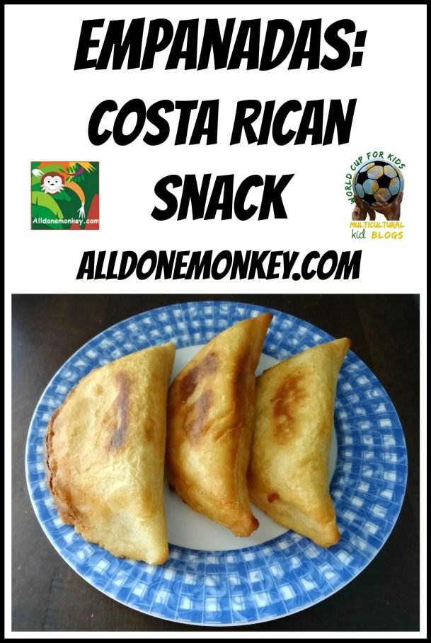 Costa Rican Snack: Empanadas - Alldonemonkey.com