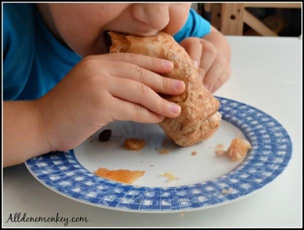 Strudel: Hungarian Treat {Around the World in 12 Dishes} | Alldonemonkey.com