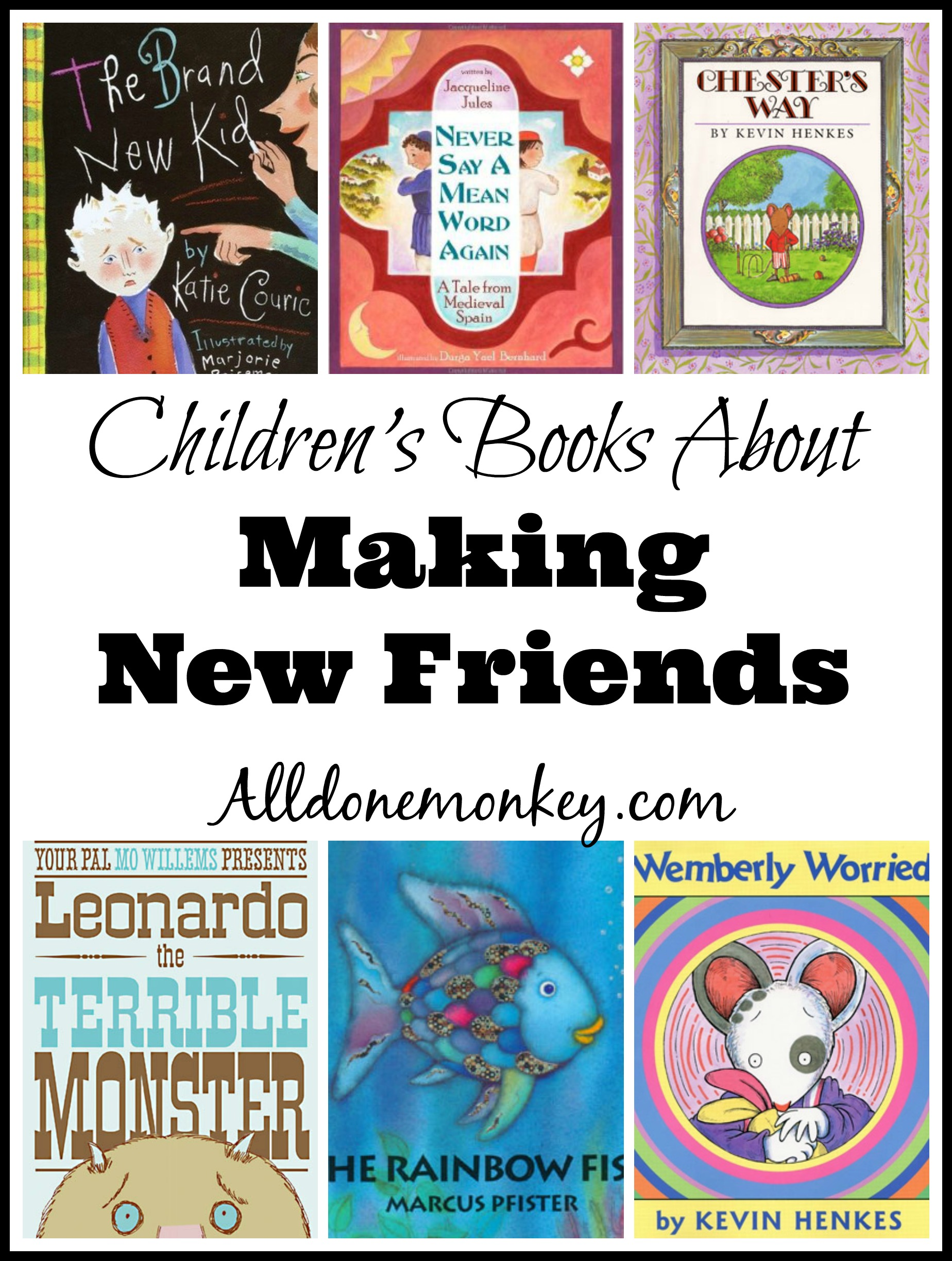 Back To School Children S Books About Making New Friends