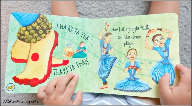 Dances of India: Multicultural Children's Book Review   Alldonemonkey.com