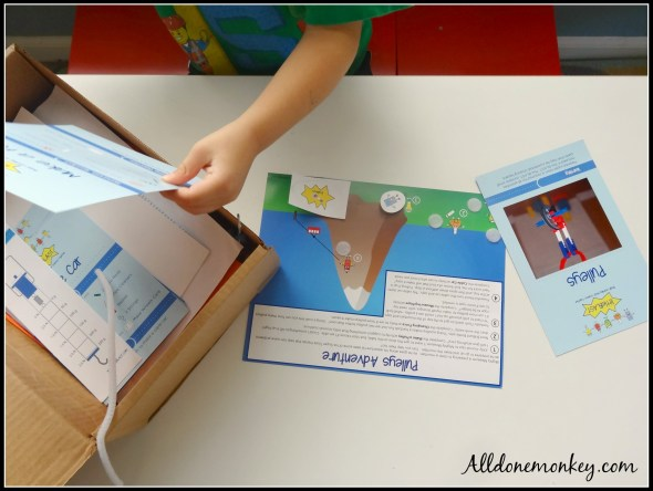 Science Kits for Kids: Little Blast Review and Giveaway | Alldonemonkey.com