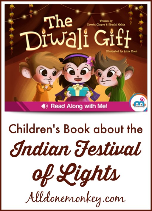 The Diwali Gift: Children's Book about the Indian Festival of Lights | Alldonemonkey.com