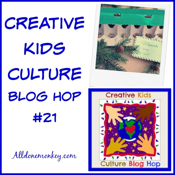 Creative Kids Culture Blog Hop #21 | Alldonemonkey.com