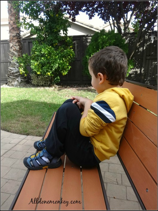Practicing Mindfulness for Kids: Spot Sitting {A Year in the Secret Garden} | Alldonemonkey.com