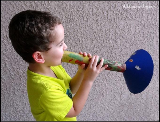 Trumpet Craft {Birth of Baha'u'llah} - Alldonemonkey.com
