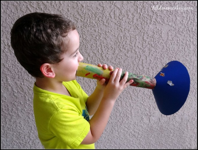 Trumpet Craft {Birth of Baha'u'llah} - Alldonemonkey.com