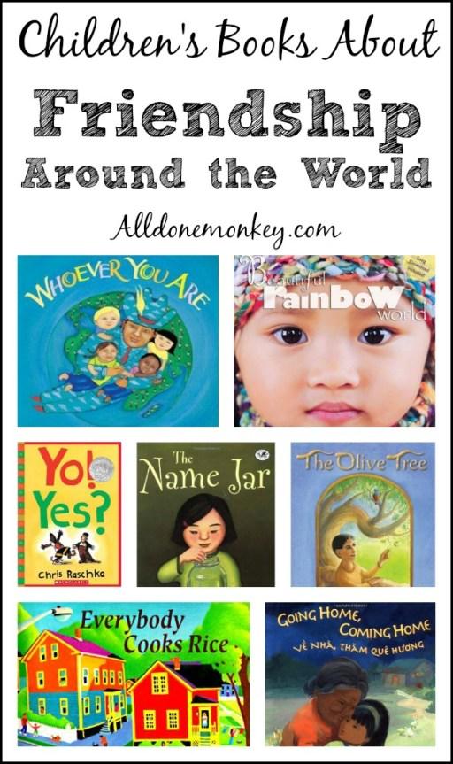 Children's Books About Friendship Around the World | Alldonemonkey.com