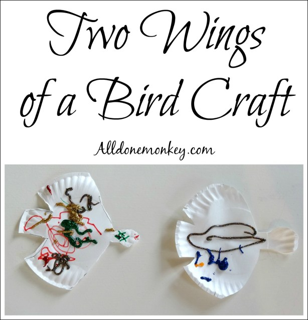 Two Wings of a Bird Craft for Women's History Month   Alldonemonkey.com