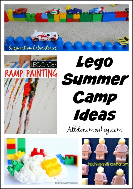 Lego Summer Camp Ideas | Alldonemonkey.com