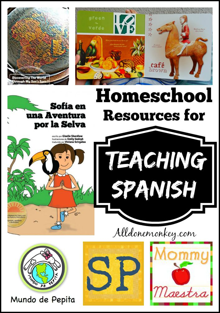 Top Homeschool Resources for Teaching Spanish