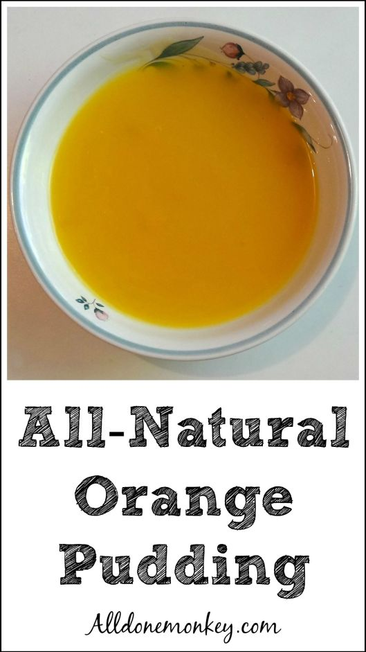 All-Natural Orange Pudding {Atol de Naranja} | Alldonemonkey.com