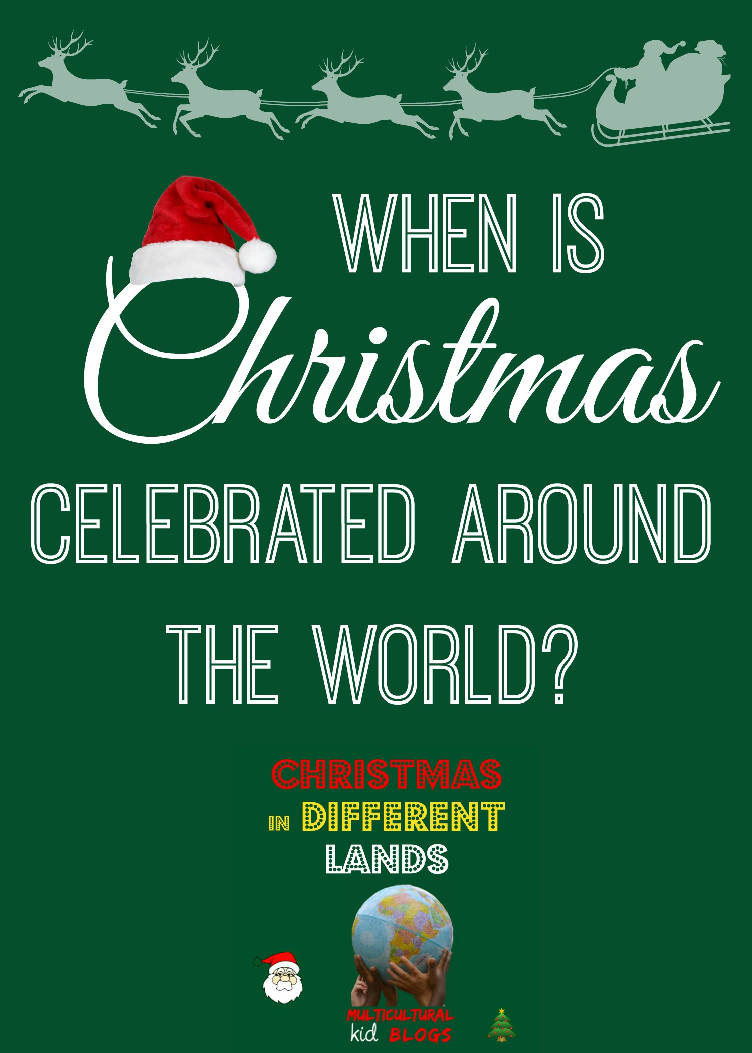 when is christmas celebrated where you live do you know why many countries celebrate on december 25 and why others do not thanks to carrie of crafty
