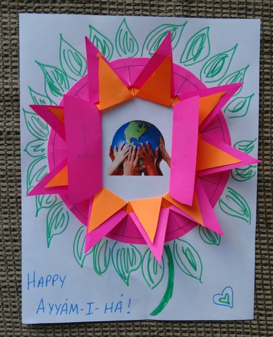 Ayyam-i-Ha Countdown Flower | Alldonemonkey.com