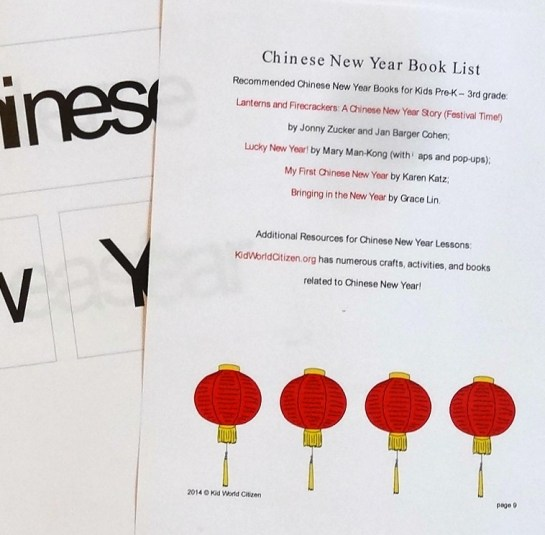 Chinese New Year Learning Activities | Alldonemonkey.com