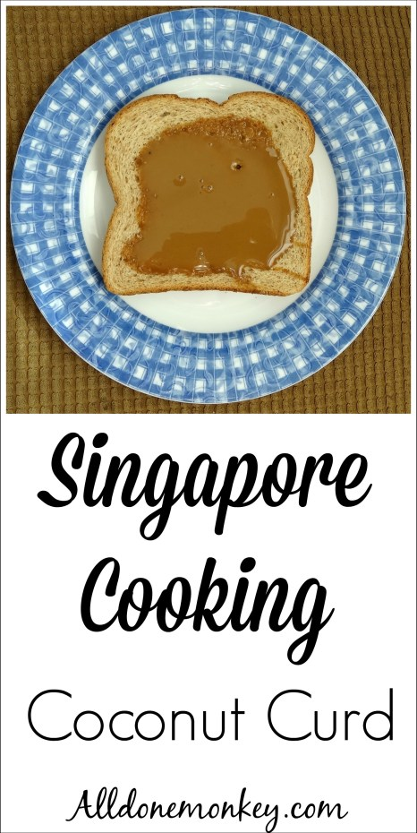 Easy coconut curd recipe to explore Singapore cooking with kids