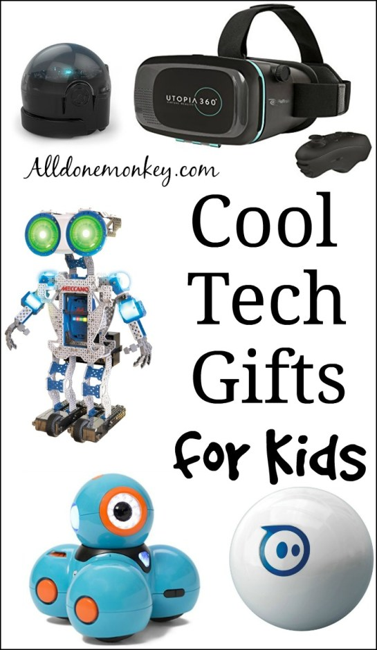 Cool Tech Gifts for Kids | Alldonemonkey.com