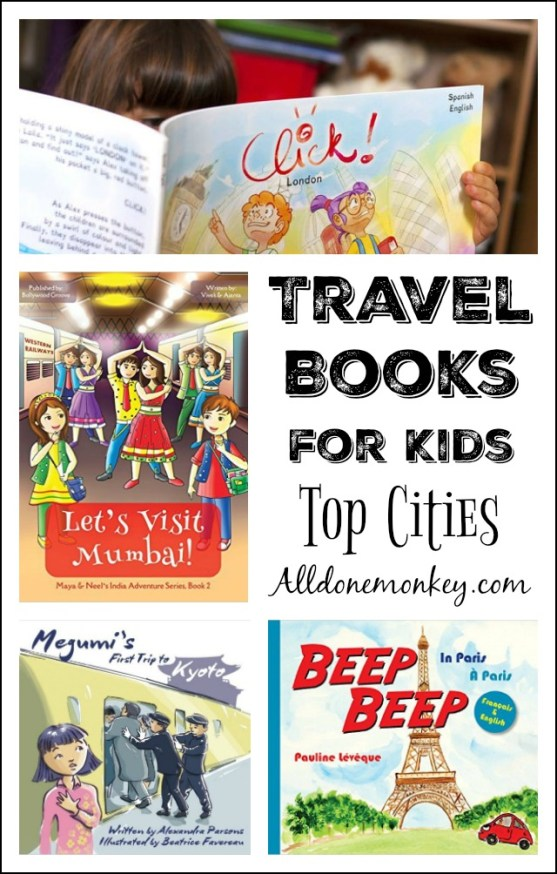 Travel Books for Kids: Top Cities