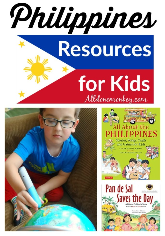 Resources for kids to learn about the Philippines