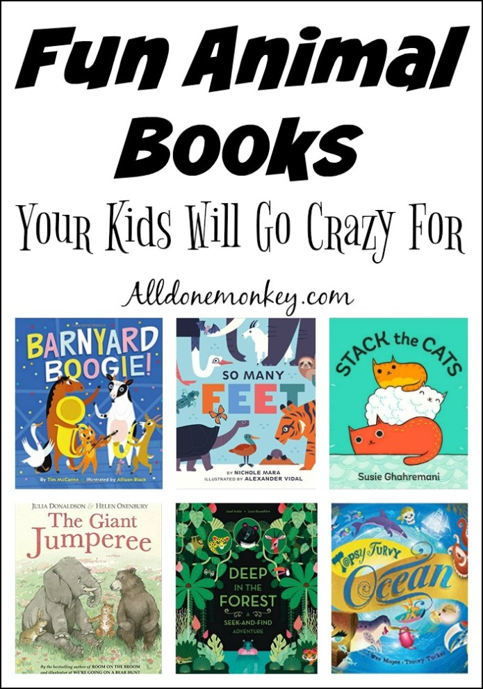 Our favorite fun animal books that children will love
