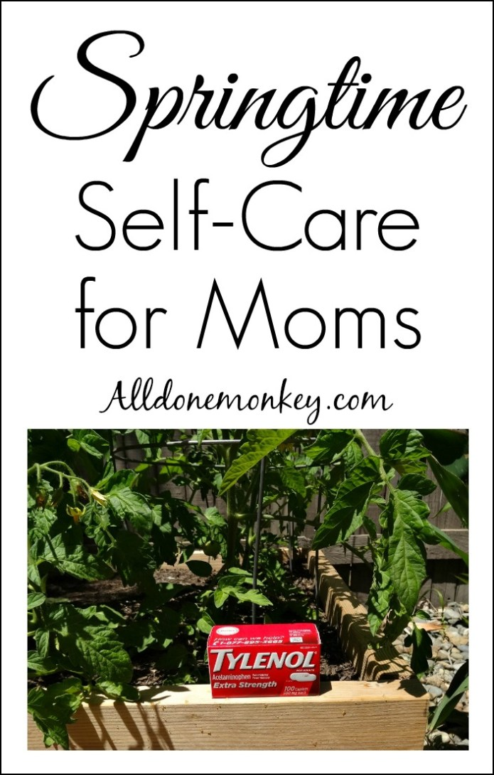 Parenting Hacks: Springtime Self-Care for Moms | Alldonemonkey.com #ForWhatMattersMost #ad #shop #cbias