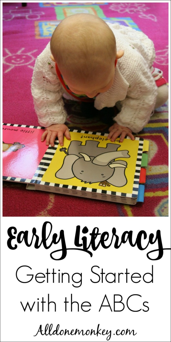 Early Literacy: Getting Started Teaching the Alphabet | Alldonemonkey.com