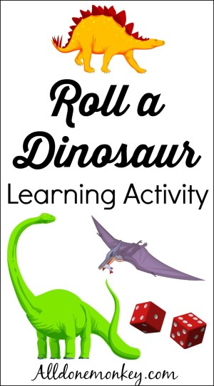 Roll a Dinosaur Learning Game