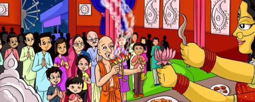 Learn About Durga Puja with a Picture Book and Crafts   Alldonemonkey.com