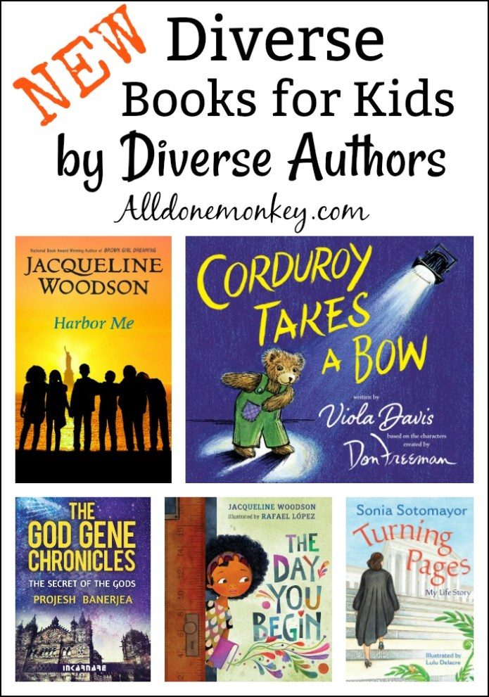 New Diverse Books for Kids by Diverse Authors | Alldonemonkey.com
