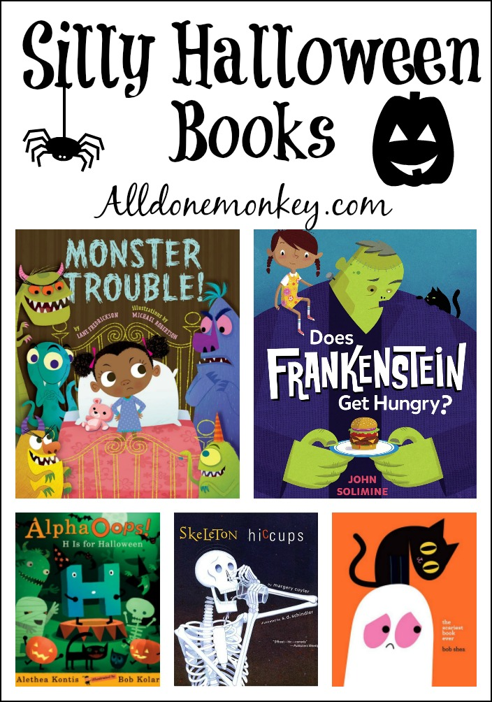 silly halloween books kids will love