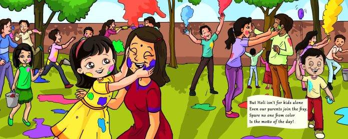 Celebrate Holi with Me! by Shoumi Sen