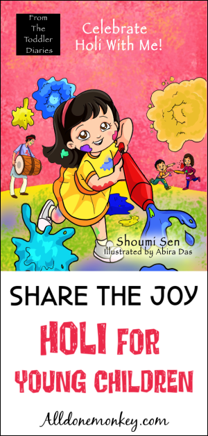 Share the Joy with a Book About Holi for Young Children