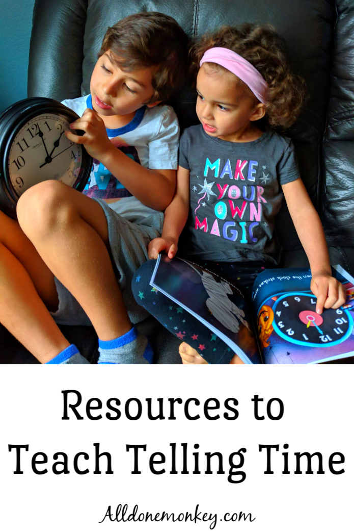 Telling Time: Resources for Parents and Educators | Alldonemonkey.com