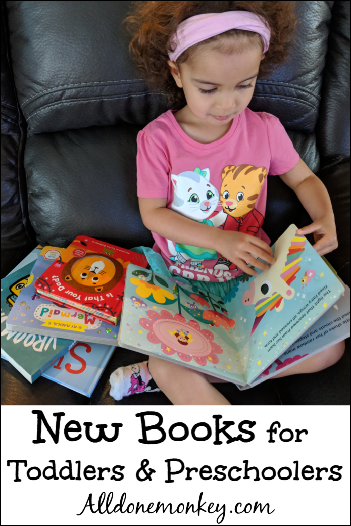 Favorite New Books for Toddlers and Preschoolers | Alldonemonkey.com
