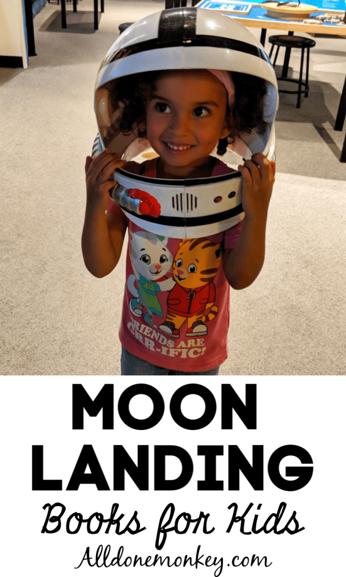 Moon Landing Books for Kids | Alldonemonkey.com