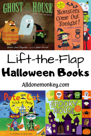 Lift-the-Flap Halloween Books for Spooky Fun!