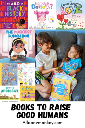 Teaching Values: Picture Books to Raise Good Humans