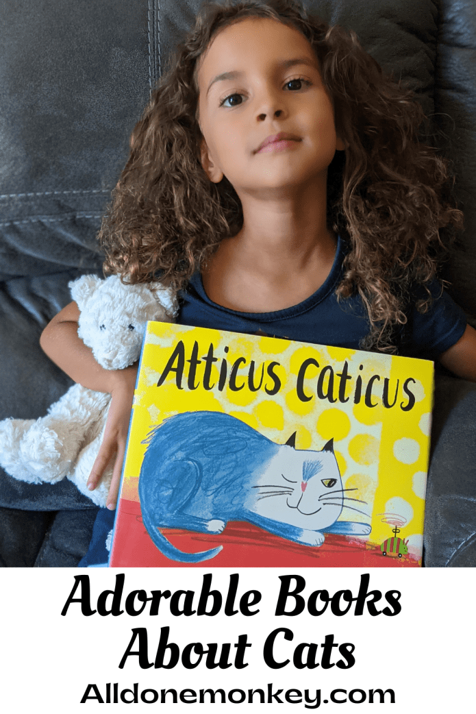 Adorable Picture Books About Cats | Alldonemonkey.com