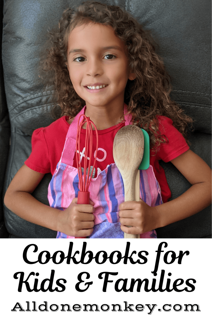 Cookbooks for Kids and Families | Alldonemonkey.com