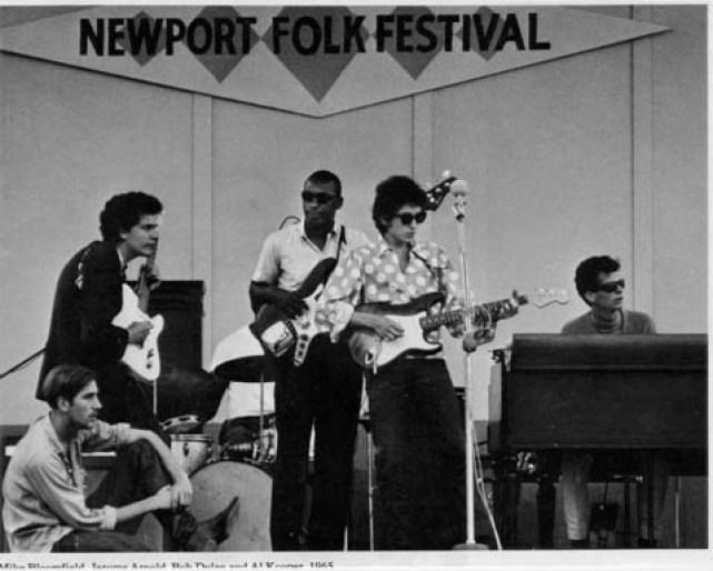 Bob Dylan at Newport 1965