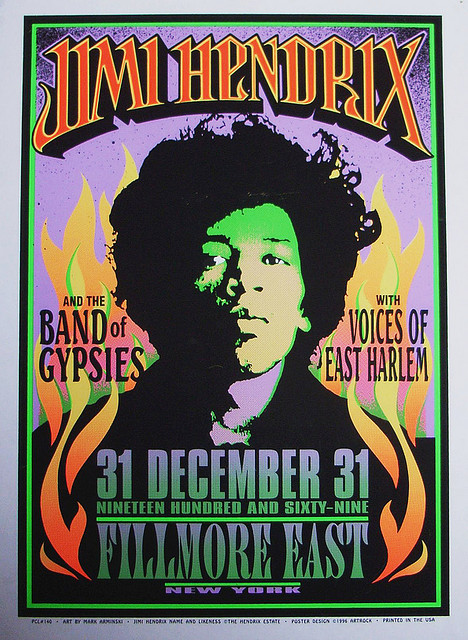 Band of Gypsies poster