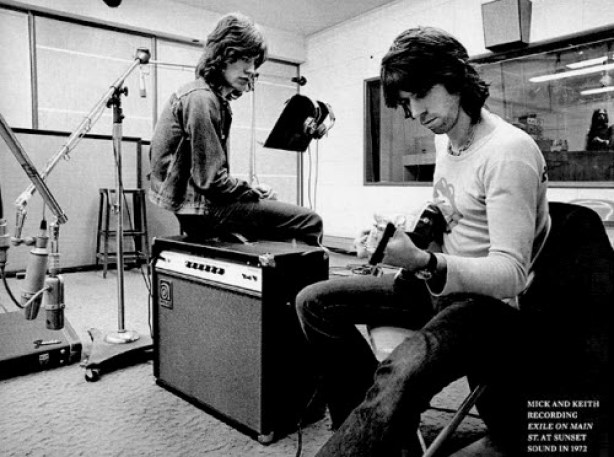 mick jagger keith richards exile on main st