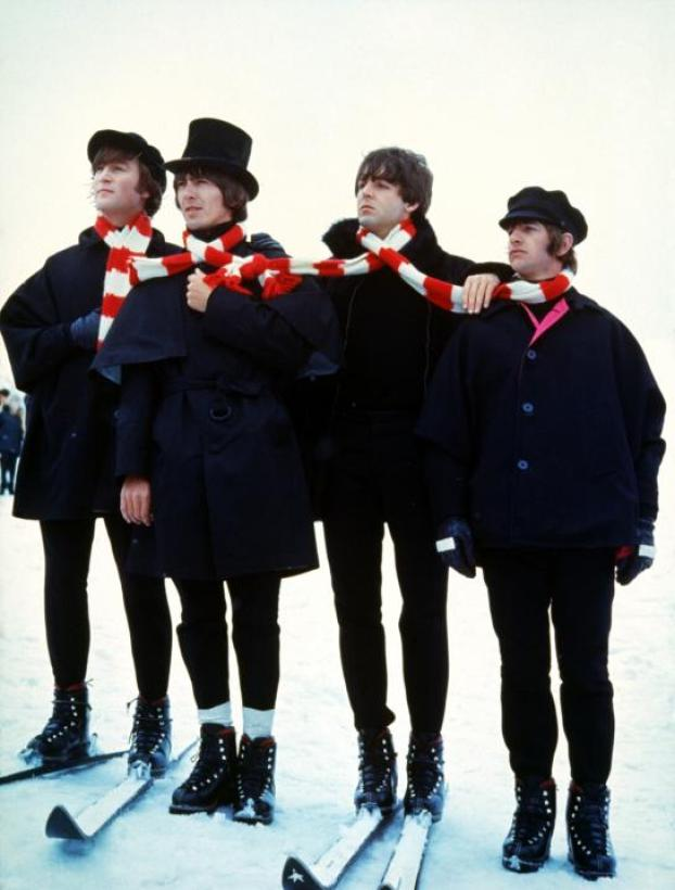 the beatles help skiing