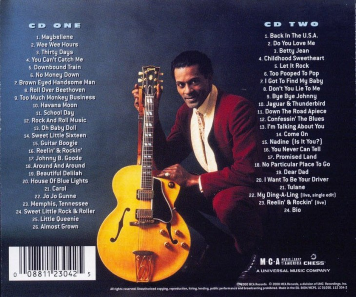 chuck berry anthology back