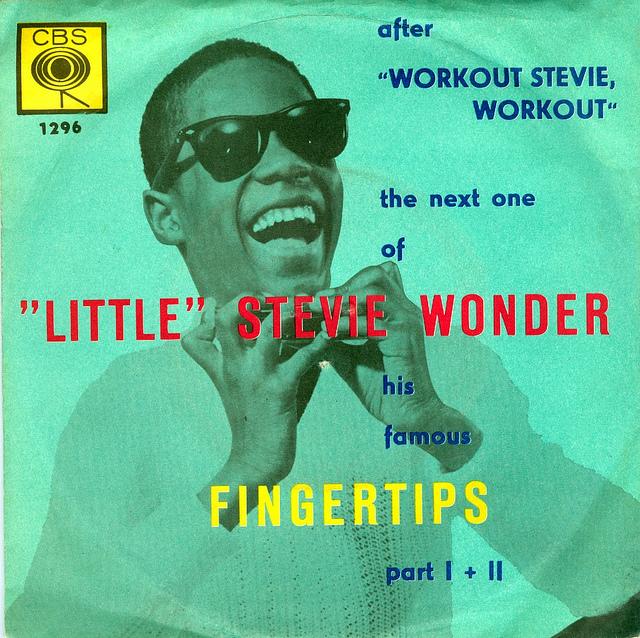 little stevie wonder - fingertips
