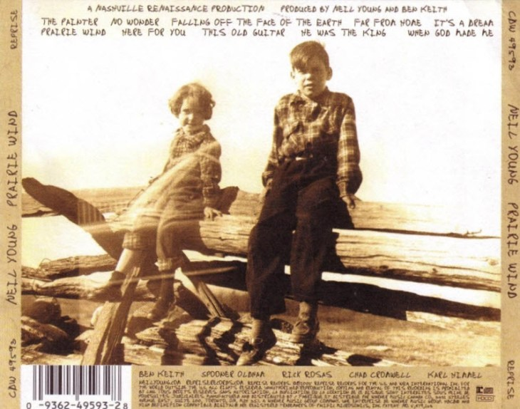 neil young prairie wind back