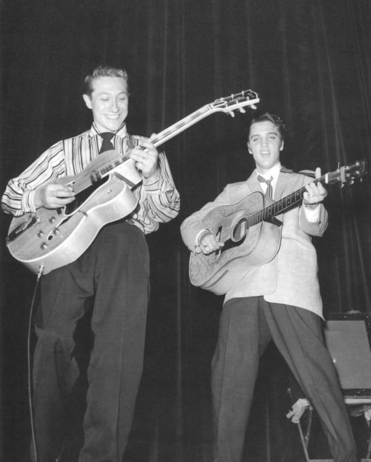 Scotty Moore y Elvis